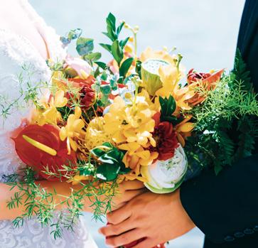 Bouquet mariée mariage Ile Réunion