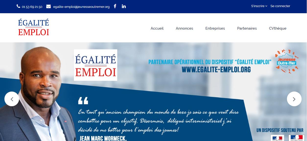 Egalité-emploi et partenariat CCI d'Outre-Mer