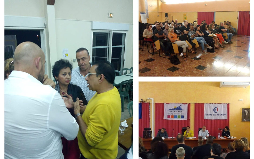 Le Président de la CCI de La Réunion à la rencontre des commerçants de Saint-Pierre