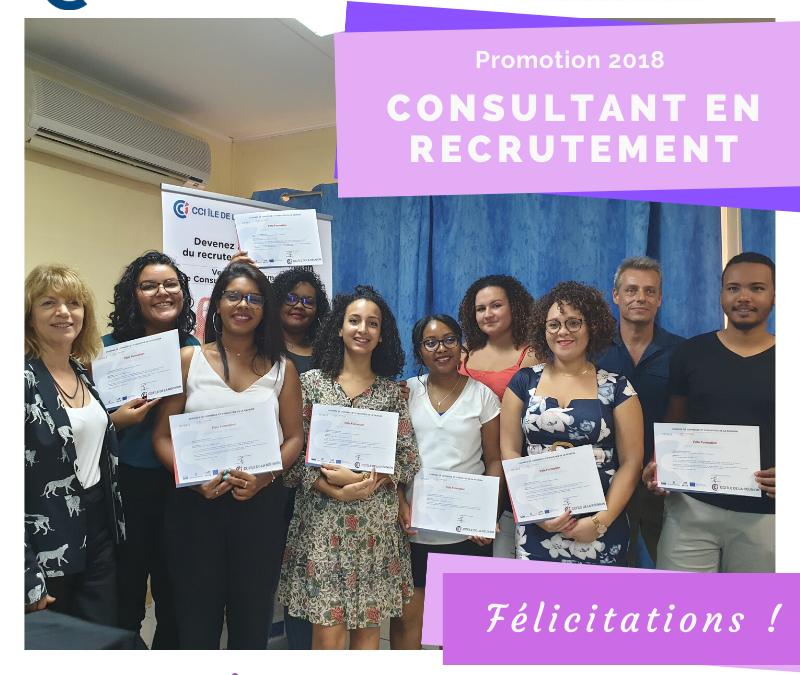 Remises des diplômes : Conseiller en Recrutement
