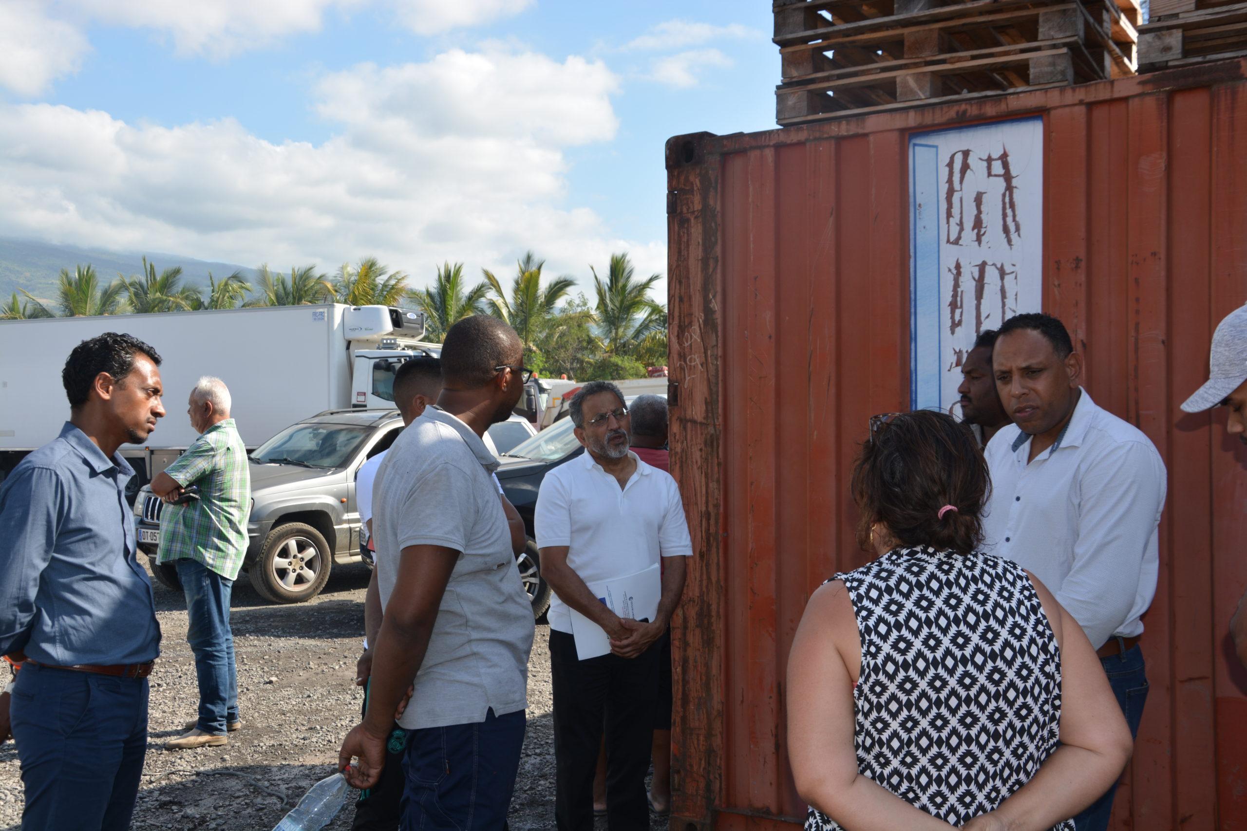 Incendie au Port : La CCI de la Réunion auprès des transporteurs