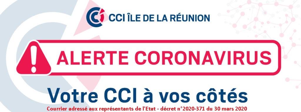 Courrier adressé aux représentants de l'Etat – décret n°2020-371 du 30 mars 2020