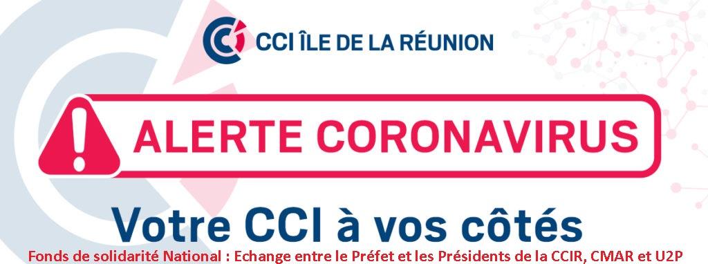 Fonds de Solidarité National – Echange entre le Préfet et les Présidents des Chambres consulaires et le Président de l'Union des Entreprises de Proximité