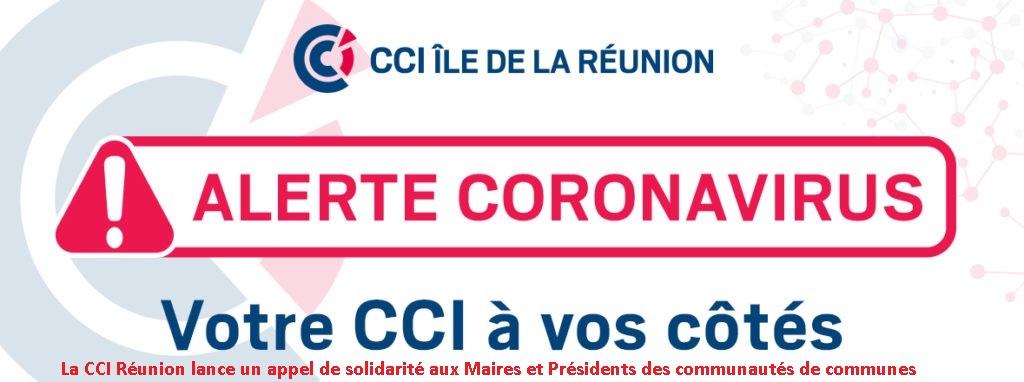 La CCI Réunion lance un appel de solidarité aux Maires et Présidents des communautés de communes