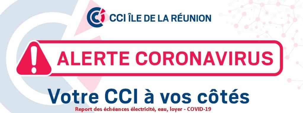 Report des échéances électricité, eau, loyer – COVID-19