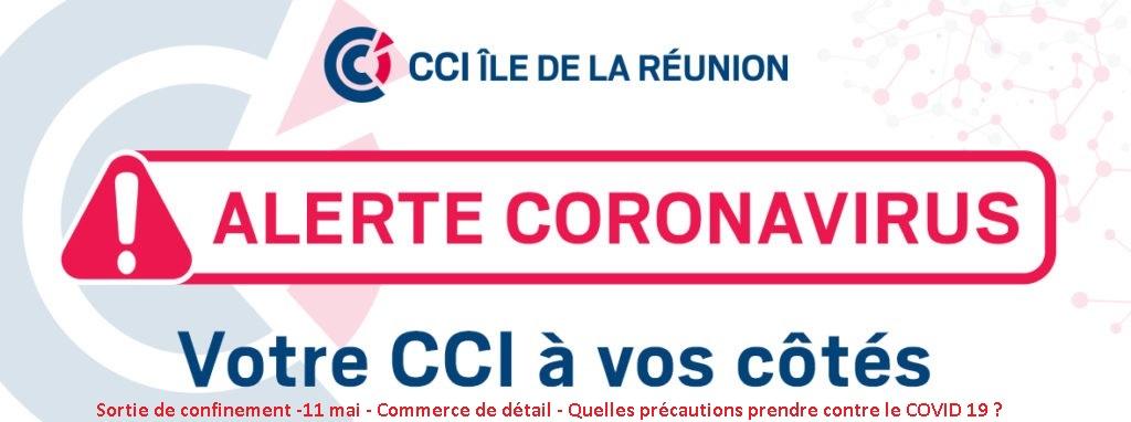 Sortie de confinement -11 mai 2020- Commerce de détail – Quelles précautions prendre contre le COVID-19 ?