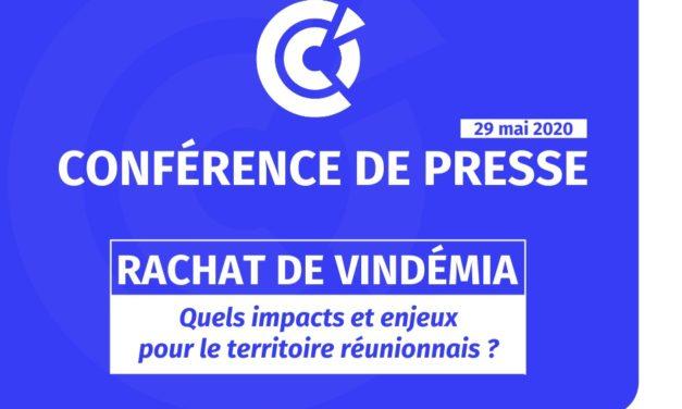 Conférence de presse de la CCI Réunion : Rachat de VINDEMIA