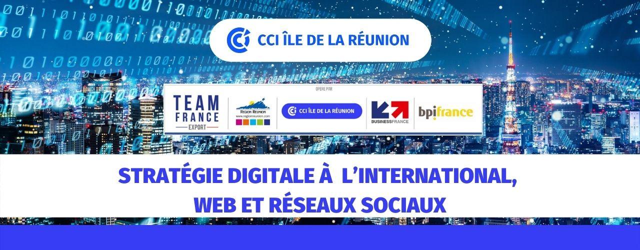 Stratégie digitale à l'International, web et réseaux sociaux