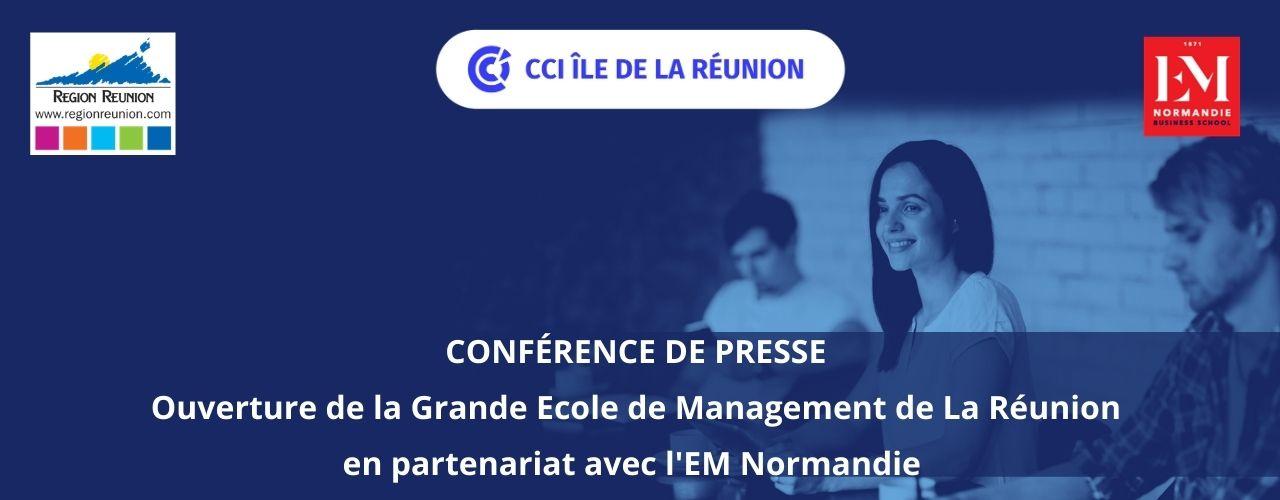 Conférence de presse – Lancement de la grande Ecole de Management de La Réunion