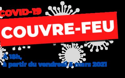 COUVRE-FEU A 18H