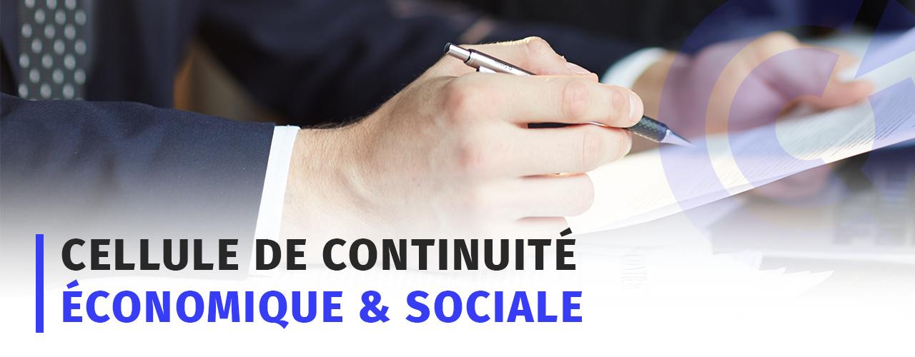 Cellule de continuité Economique & Sociale