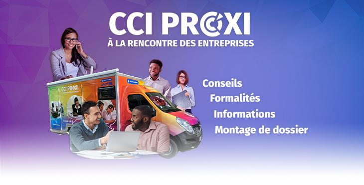 Rencontre avec les entreprises, Camion CCI Proxi : Le Tampon