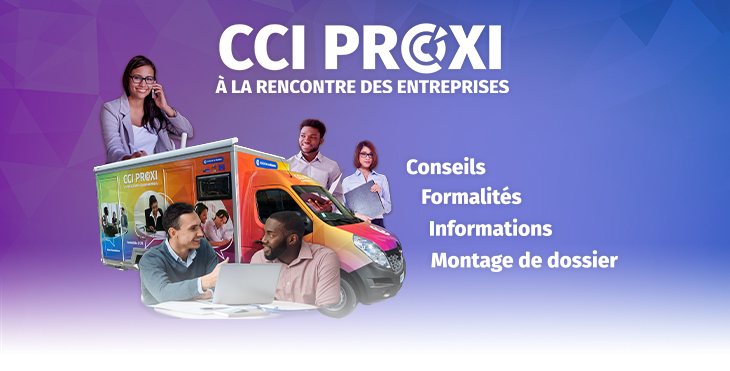 Rencontre avec les entreprises, Camion CCI Proxi : Trois-Bassins