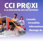 Rencontre avec les entreprises, Camion CCI Proxi : Plaine des Palmistes