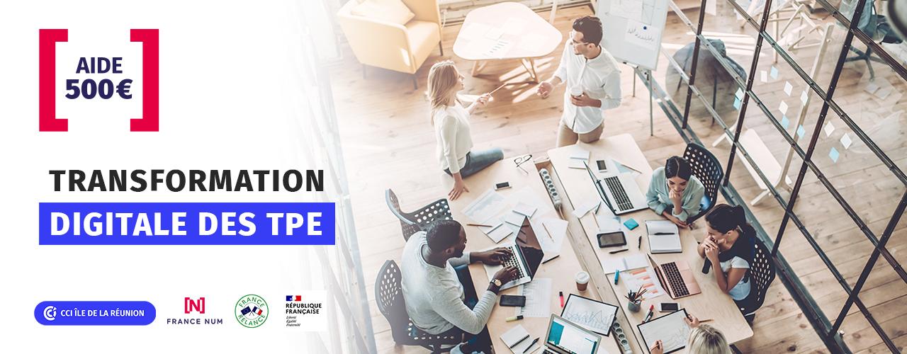 TPE : Bénéficiez d'une aide de 500€ pour votre transformation digitale