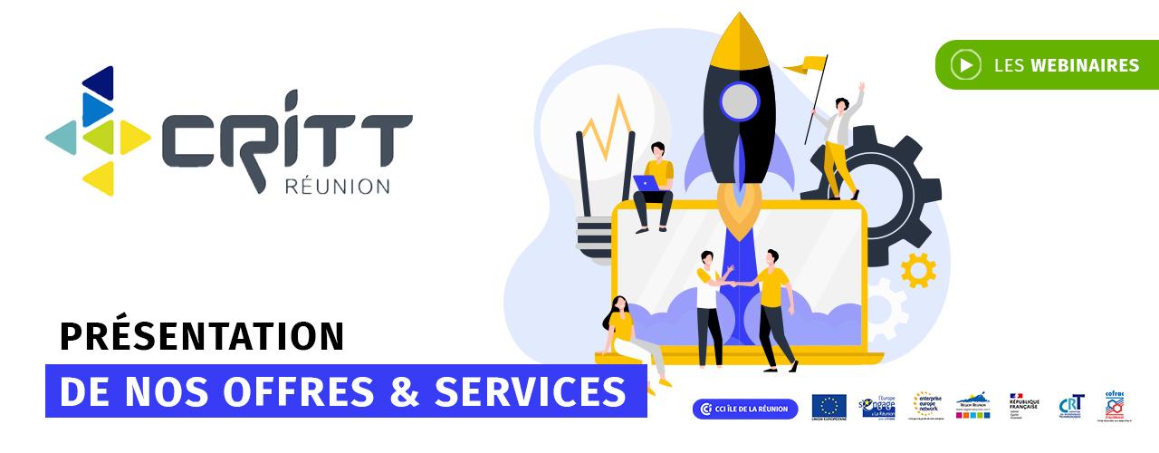 Le CRITT : présentation de nos offres & services